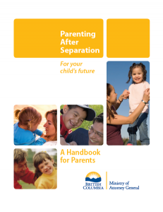 Parenting After Separation Handbook