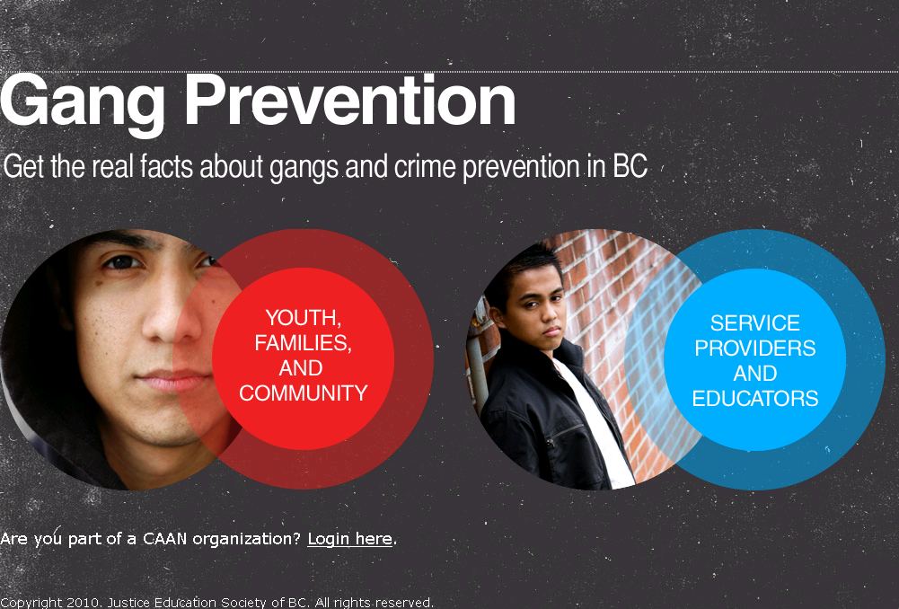 Youth and Gangs Website and Workshops – Clicklaw Blog
