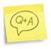 q+a icon