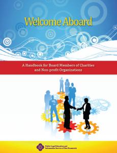 Welcome Aboard Handbook