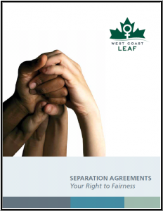 Separation Agreements: Your Right to Fairness