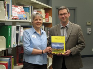 Maple Ridge Public Library Branch Manager Teresa MacLeod and Clicklaw Wikibook author JP Boyd