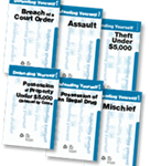 Defending Yourself In Court Booklets
