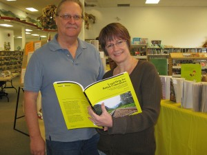 Clicklaw Wikibook author Cliff Thorstenson and Merritt Branch Librarian Deborha Merrick