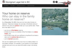 Aboriginal Legal Aid BC