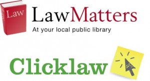 clicklaw and lawmatters
