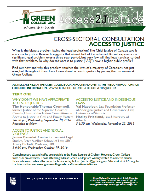 Talks on Access to Justice – Clicklaw Blog
