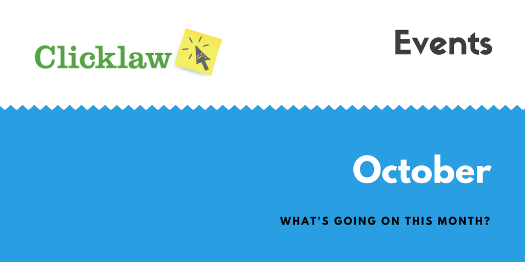 Clicklaw blog stay informed with whats newlegal info events and check out other events webinars and workshops from various organizations throughout october solutioingenieria Image collections
