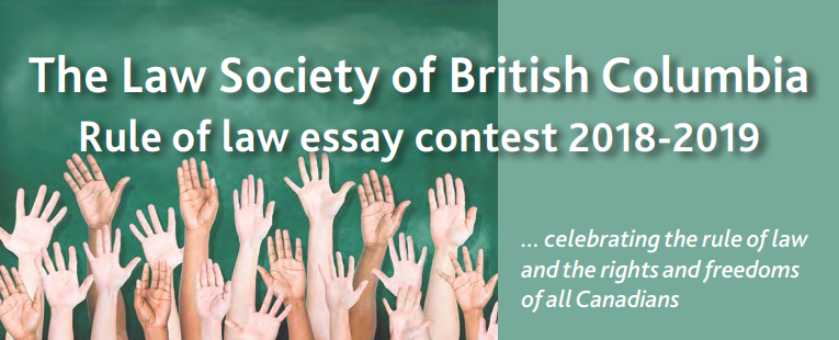 The Rule of Law Essay Contest
