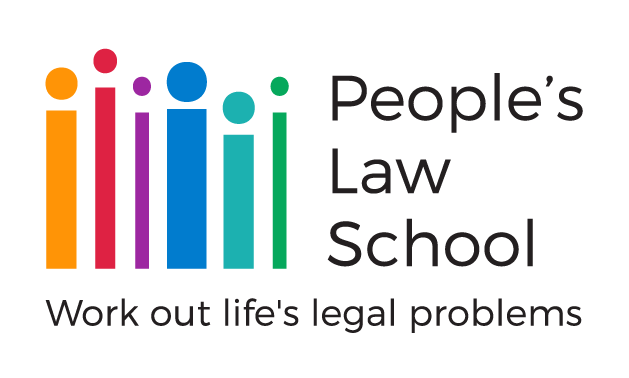 People's Law School's logo