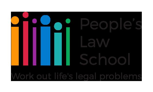 People's Law School's logo