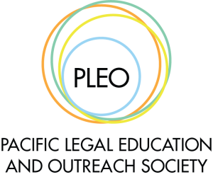 Pacific Legal Education & Outreach Society (PLEO) logo