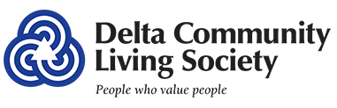 Delta Community Living Society logo