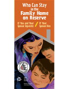 """Cover page of """"Who Can Stay at the Family Home on Reserve"""""""