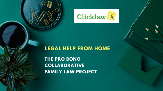 Blog post banner for Pro Bono Collaborative Family Law Project