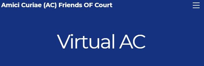 A screenshot of the Virtual AC website